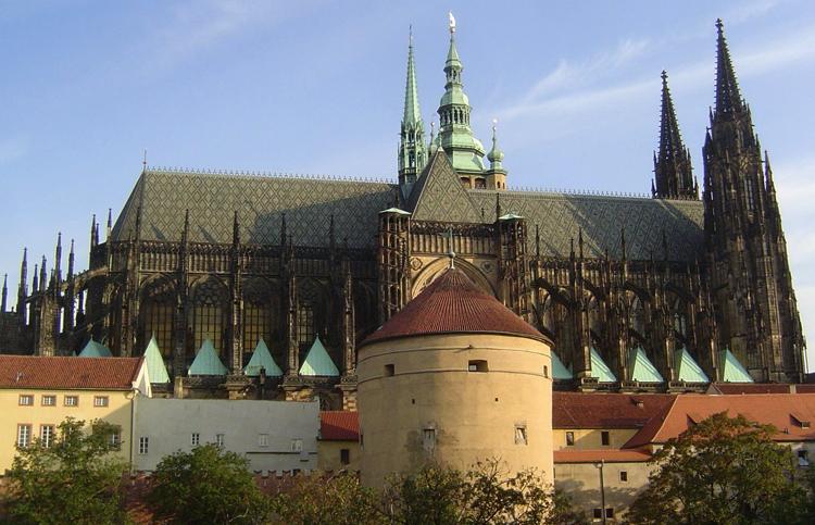 Замок Пражский град