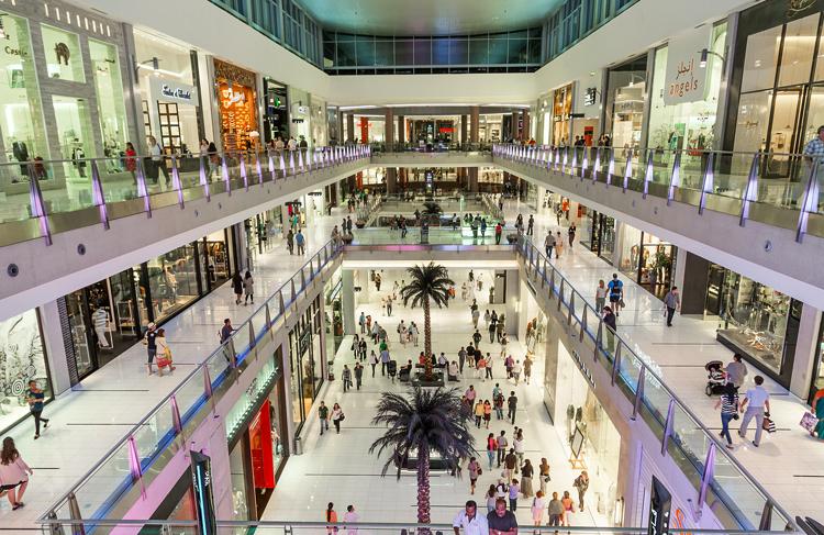 Внутри Дубай Молла