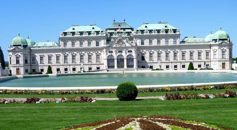 Парковый дворец Бельведер