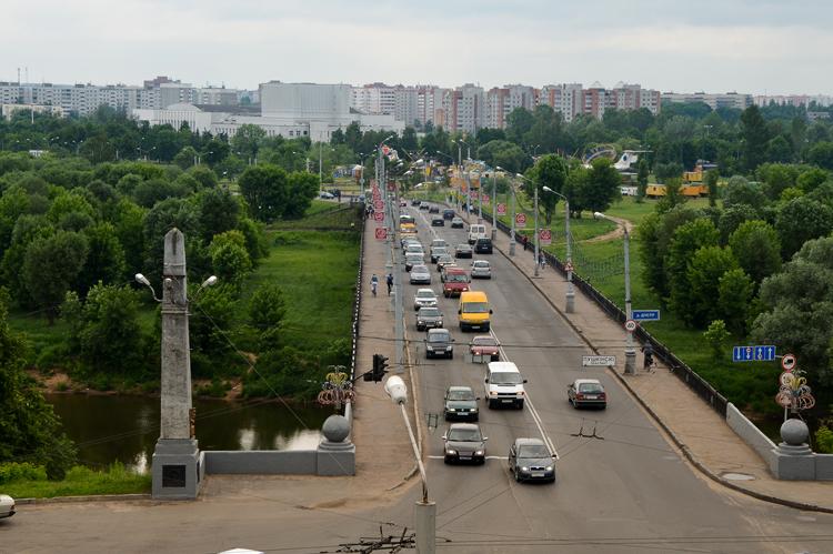 Мост через реку Днепр