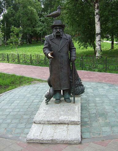 Памятник С.Г.Писахову