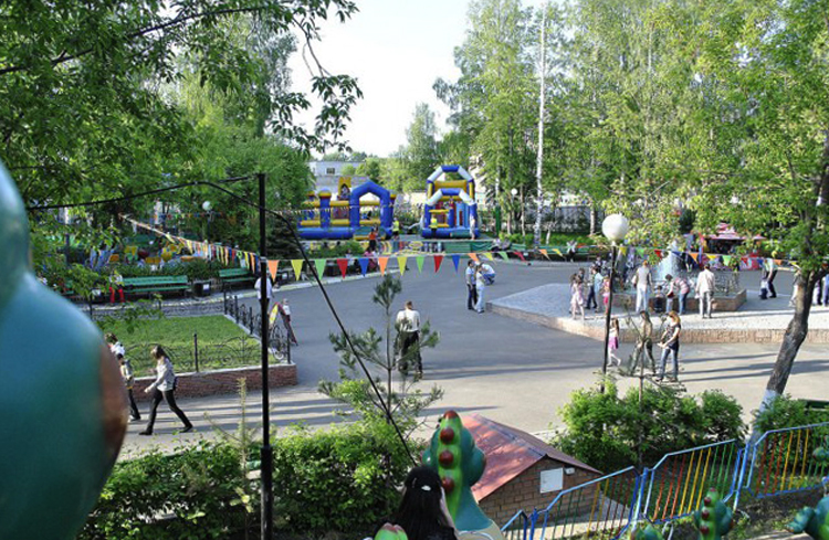 Парк на Никитской
