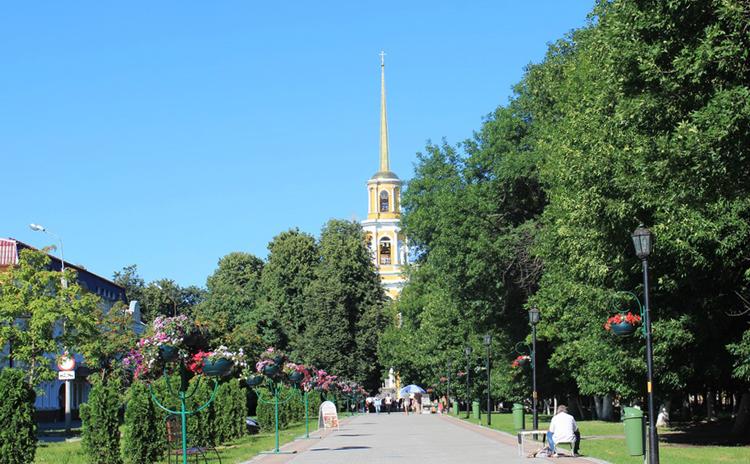 Соборный парк Рязани