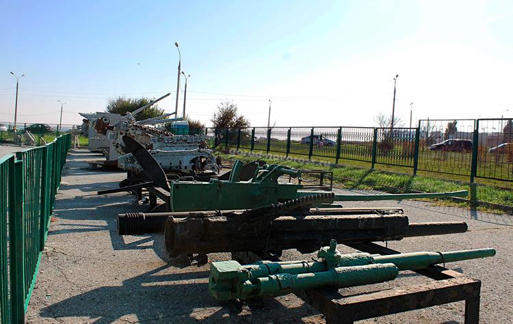 Мемориал оружия и техники времён ВОВ