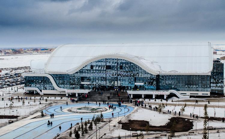 Ледовый дворец «Караганды-Арена»
