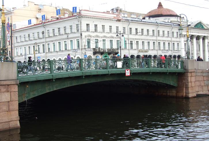 Мост на невском проспекте