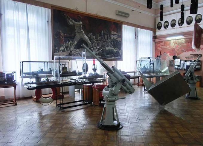 В музее ЧФ РФ