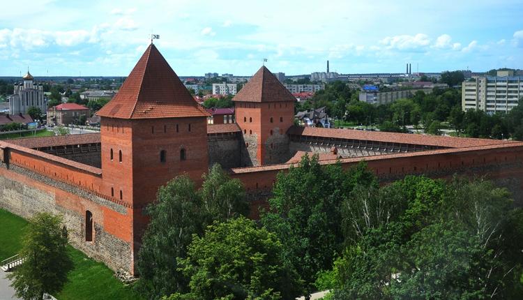 Лидский замок Гедимина