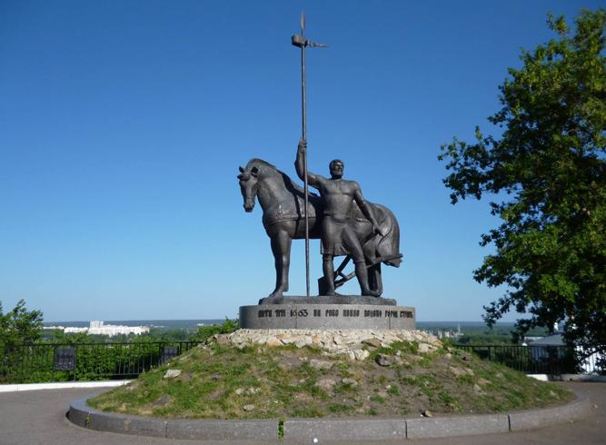 Памятник «Первопоселенец»