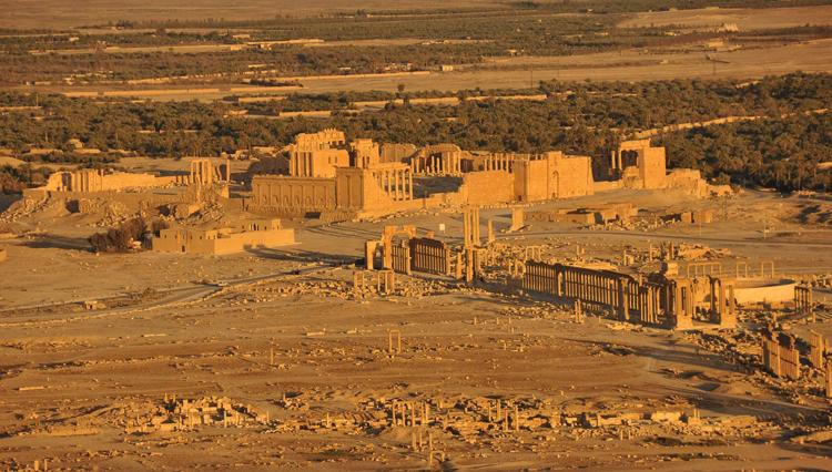 Античный район Пальмиры