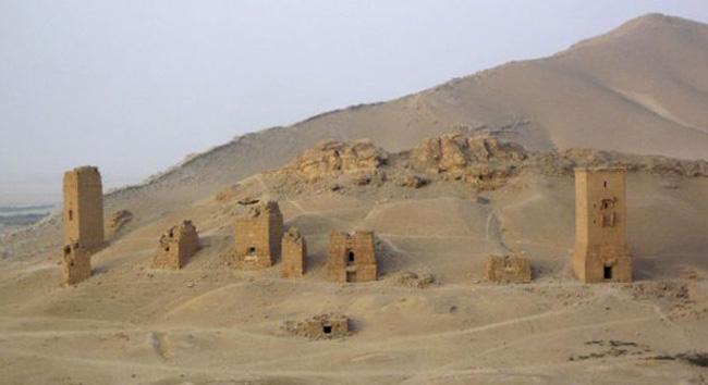 Погребальные башни в Долине гробниц