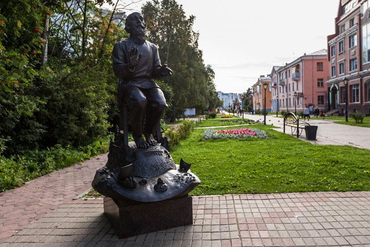 Памятник Б.Шергину