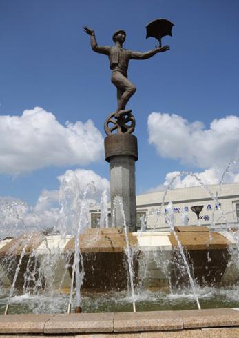 Скульптура эквилибриста
