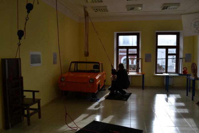 Внутри музея занимательных наук