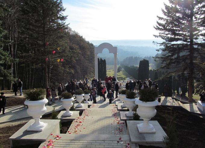 Смотровая площадка над долиной Роз