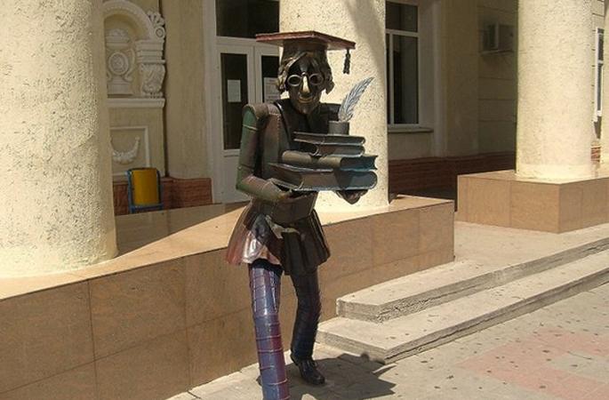 Скульптура «Студент»