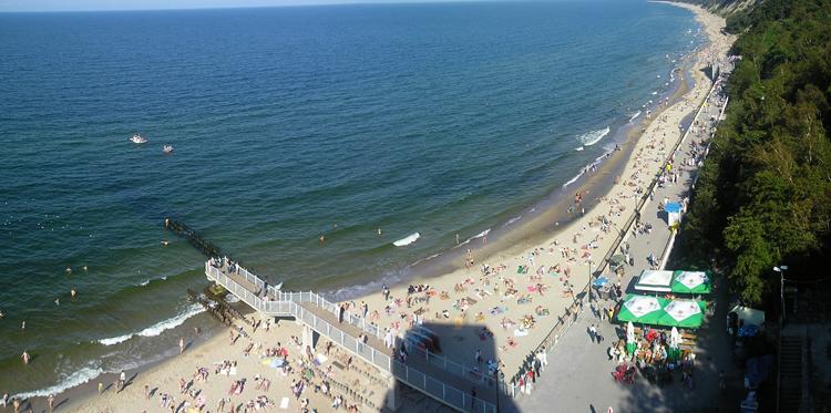 Светлогорский пляж