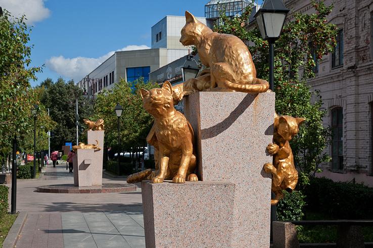 Сквер «Сибирских кошек»