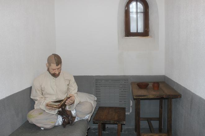 В тюремном музее
