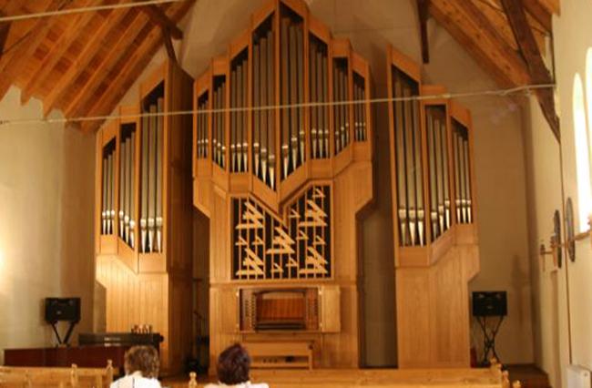 Внутри органного зала