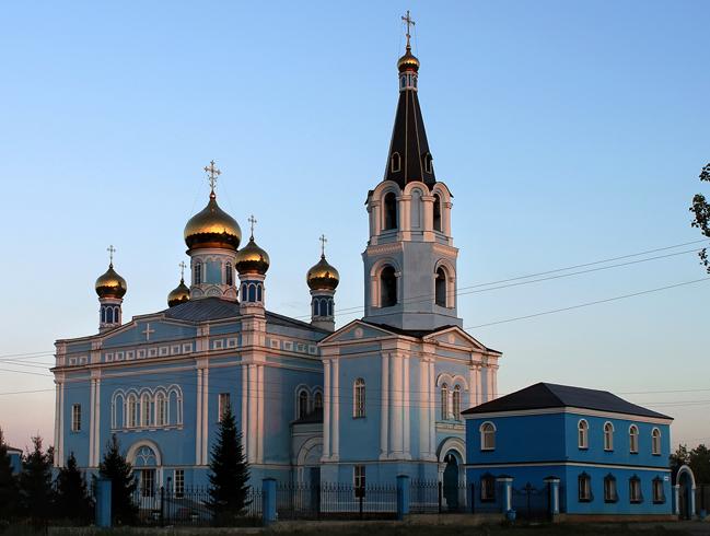 Церковь Покрова Божьей Матери