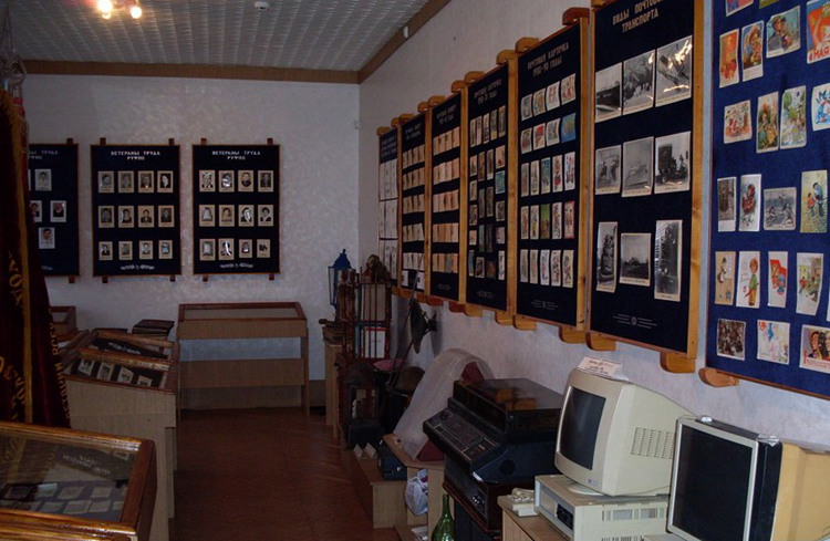 В музее почты