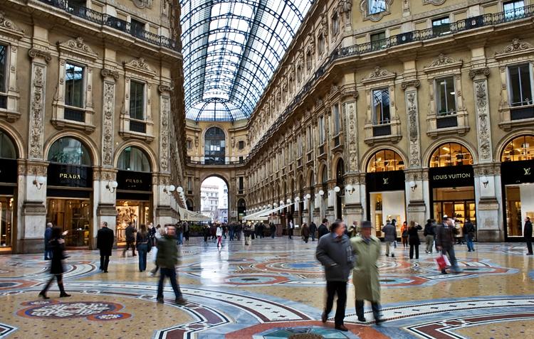 Золотой четырёхугольник Милана