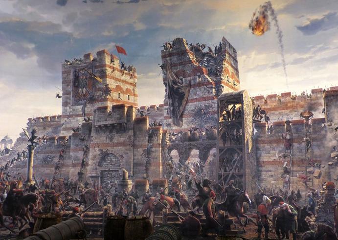 Исторический музей – панорама 1453