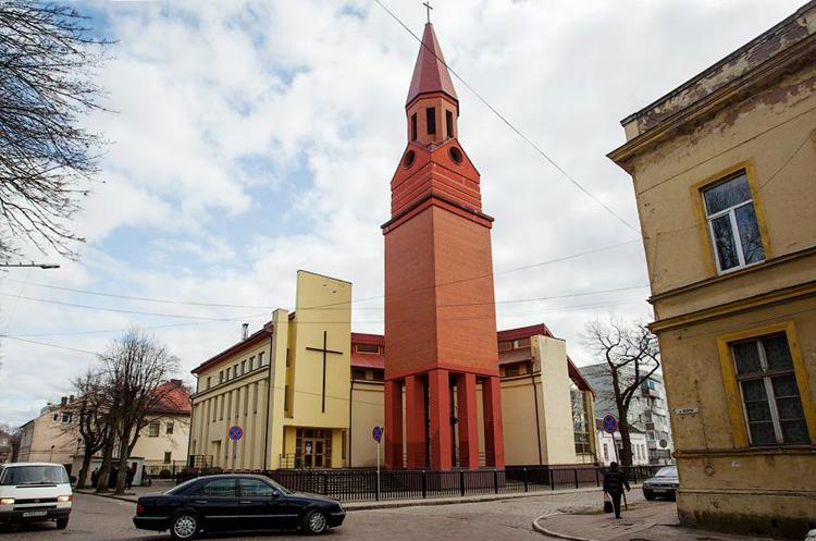 Католический храм Вознесения Христа