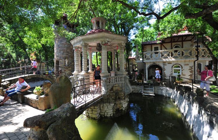 Старый парк Кабардинки