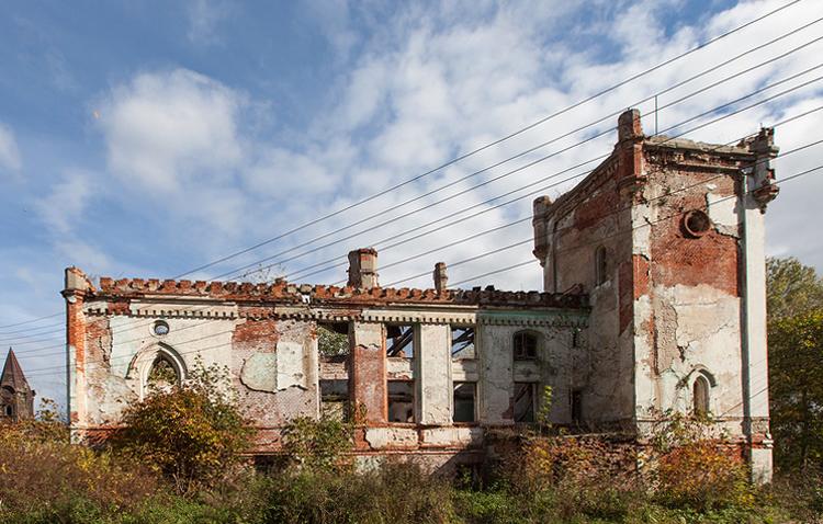 Замок Дмитрия Черткова