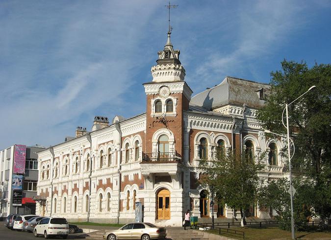 Амурский областной краеведческий музей имени Новикова - Даурского