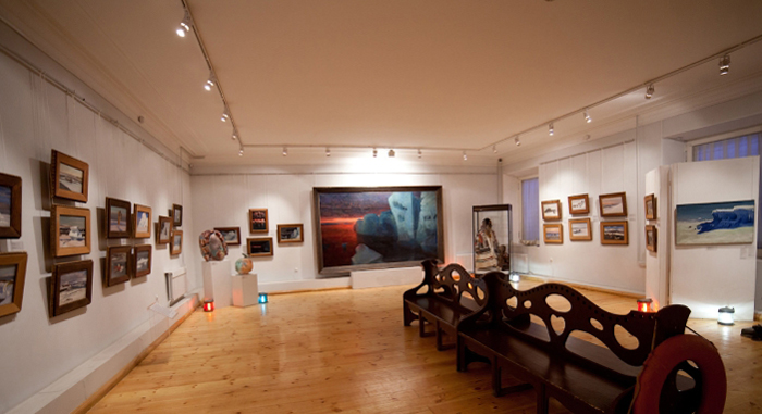 В музее освоения арктики