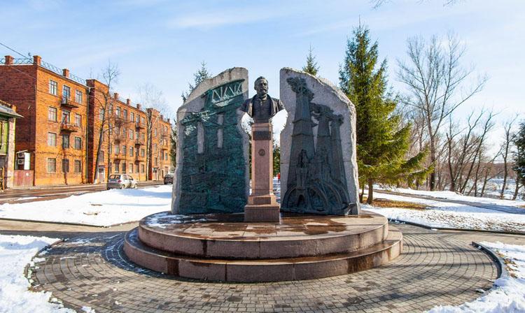 Памятник Людвигу Нобелю