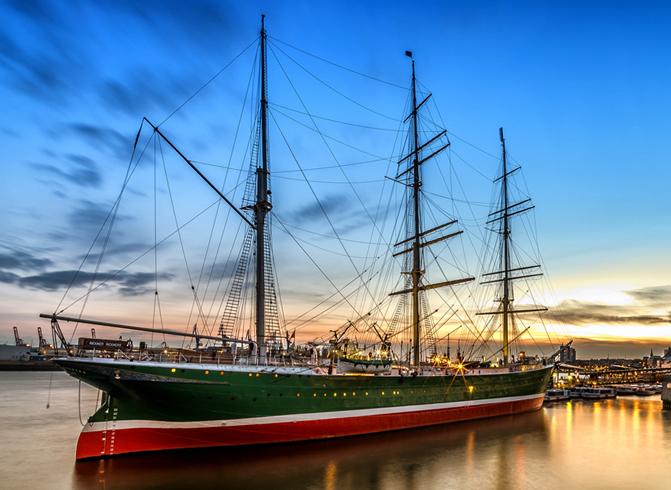 Корабль музей Рикмер Рикмерс