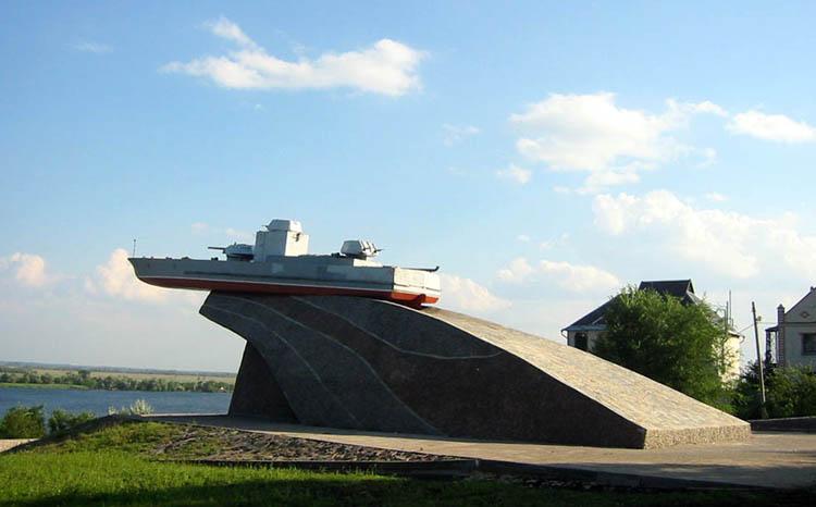 Памятник морякам Дунайской флотилии