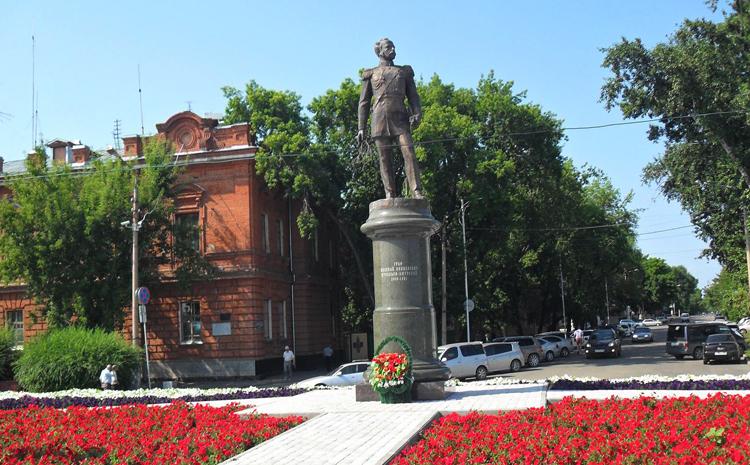 Памятник Муравьеву - Амурскому