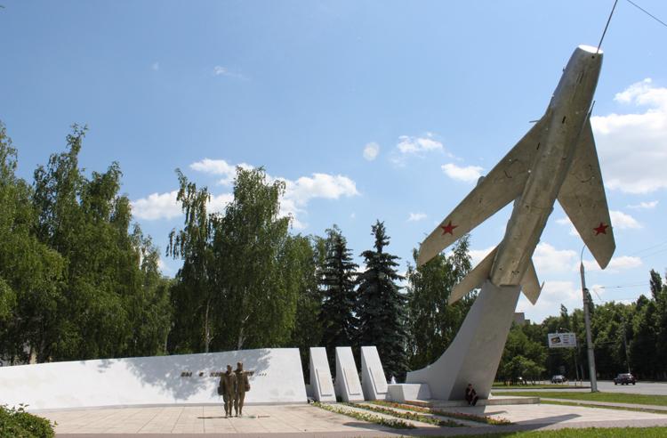 Памятник героям-авиаторам