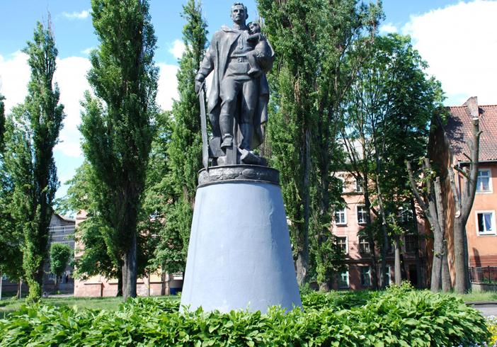 Парк Победы и мемориал