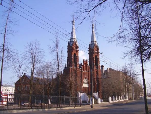 """Польский костел """"Сердце Иисуса"""""""