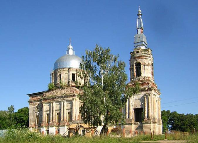 Усадьба Рай-Семеновское
