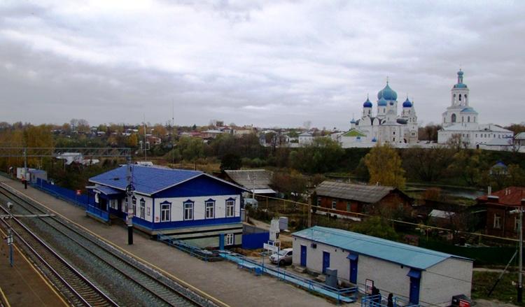 Железнодорожная станция Боголюбово