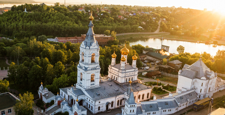 Свято-Троицкий Стефанов мужской монастырь