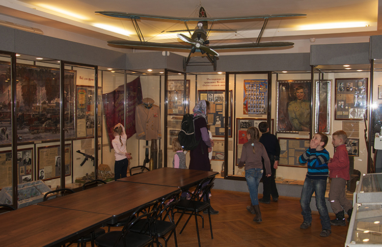 В историко-художественном музее