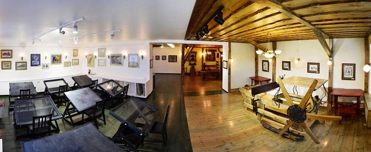 Внутри музея печатного дела