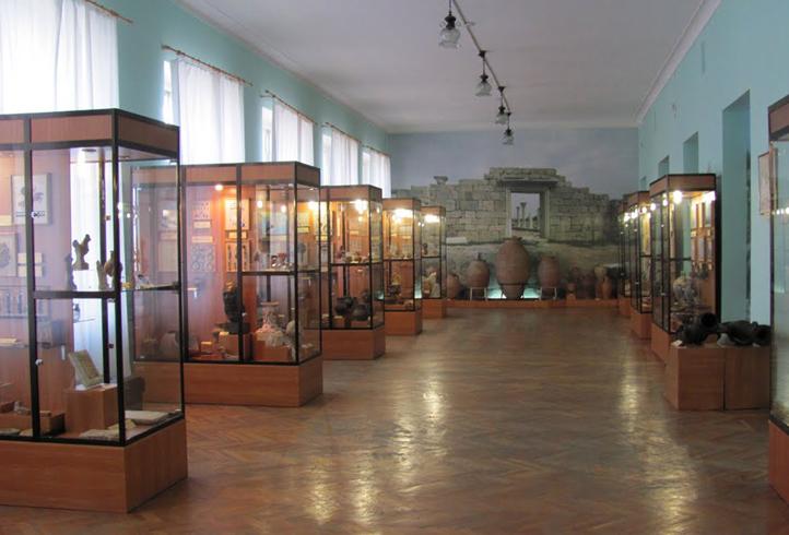 Внутри музея Тавриды