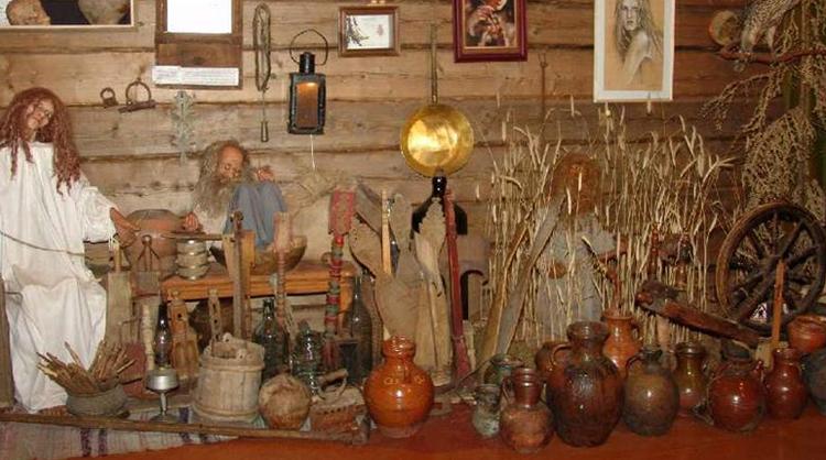 Внутр музея мифов