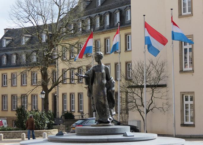 Памятник герцогине Шарлотте