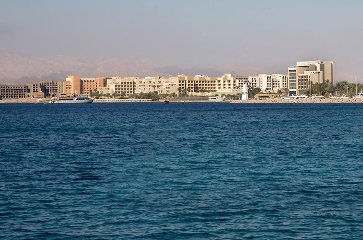 Набережная Акабского залива