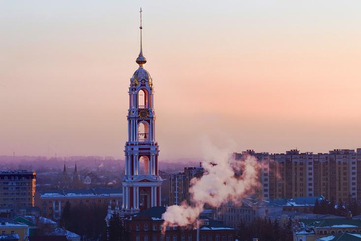 Колокольня Казанского Богородичного монастыря